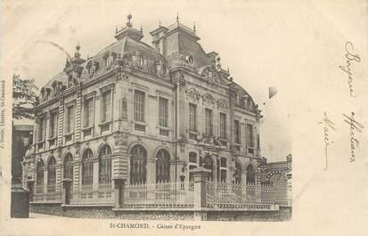 """CPA FRANCE 42 """" St Chamond, La Caisse d'Epargne"""""""