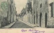 """Grece CPA GRECE """"Rhôdes, rue des chevaliers"""" / OBLITERATION SMYRNE 1908"""