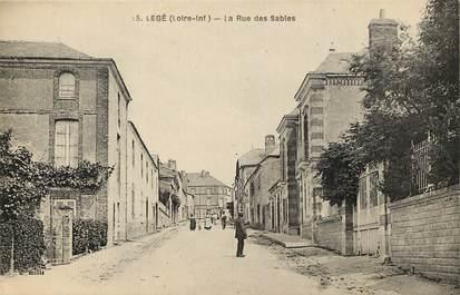 """CPA FRANCE 44 """"Legé, la Rue des Sables"""""""