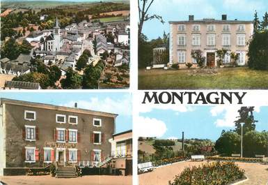 """CPSM FRANCE 42 """" Montangy, Vues"""""""