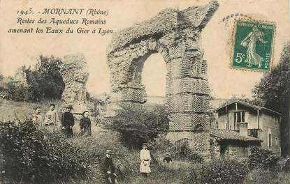 """/ CPA FRANCE 69 """"Mornant, restes des aqueducs Romains"""