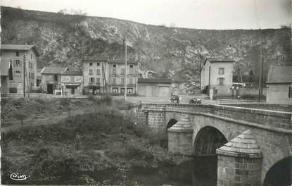 """CPSM FRANCE 42 """" Boen sur Lignon, Le Pont"""""""