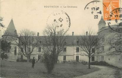 """CPA FRANCE 42 """"Bouthéon, Le château"""""""