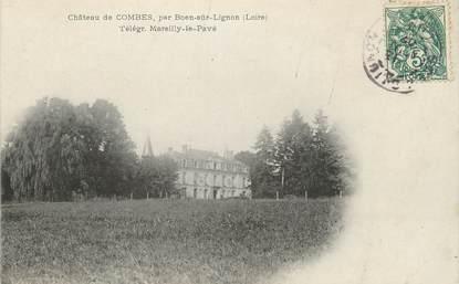 "CPA FRANCE 42 ""Combes, Le château"""