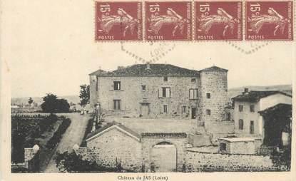"CPA FRANCE 42 ""Jas, Le château"""