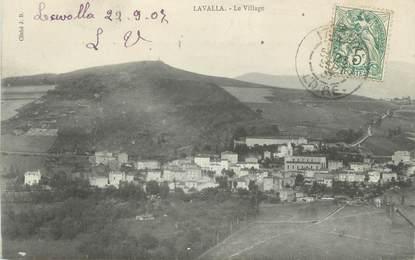 """CPA FRANCE 42 """"Lavalla, Le village"""""""