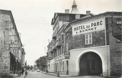 """CPSM FRANCE 42 """"Feurs, Hôtel du Parc"""""""