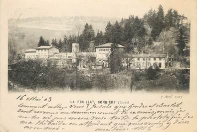 """CPA FRANCE 42 """"Sorbiers, La Feuillat"""""""