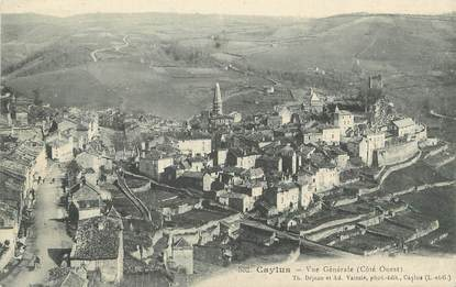 "/ CPA FRANCE 82 ""Caylus"""