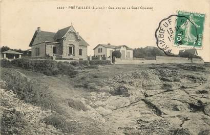 """CPA FRANCE 44 """"Préfailles, Chalets de la Côte Couassé"""""""