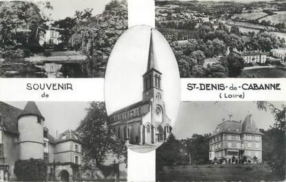 """CPSM FRANCE 42 """"St Denis de Cabanne, Vues"""""""