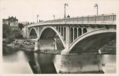 "CPSM FRANCE 42 ""St Just sur Loire, Le pont"""