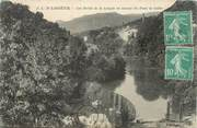 "34 Herault CPA FRANCE 34 "" Lodève, Les bords de la Lergue en amont du Pont de Celles"""