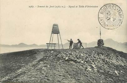 """CPA FRANCE 73 """" Mont Jovet, Signal et table d'orientation"""""""