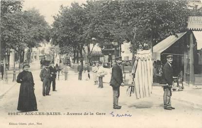 "CPA FRANCE 73 "" Aix les Bains, Avenue de la Gare"""