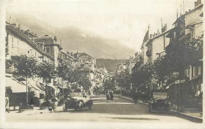 "CPA FRANCE 73 "" Aix les Bains, La Rue de Genève"""