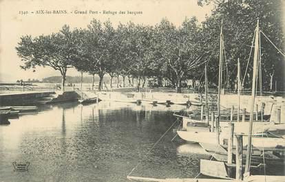 "CPA FRANCE 73 "" Aix les Bains, Le grand port"""