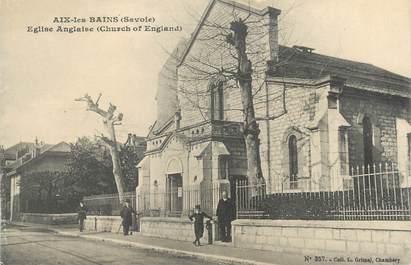 "CPA FRANCE 73 "" Aix les Bains, Eglise Anglaise"""