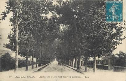 "CPA FRANCE 73 "" Aix les Bains, Avenue du Grand Port"""
