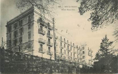 """CPA FRANCE 73 """" Aix les Bains, Hôtel Beau Site"""""""