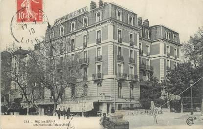 """CPA FRANCE 73 """" Aix les Bains, International Palace Hôtel"""""""