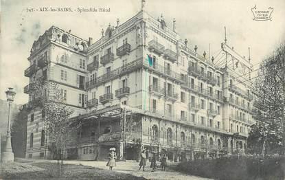 """CPA FRANCE 73 """" Aix les Bains, Le Splendid Hôtel """""""