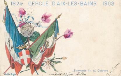 """CPA FRANCE 73 """" Aix les Bains, Le Cercle"""" / CASINO"""