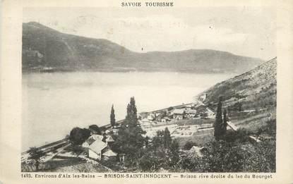 """CPA FRANCE 73 """" Brison St Innocent, Rive droite du Lac du Bourget"""""""