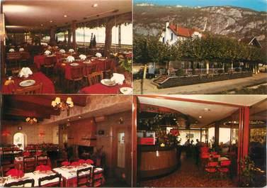 "CPSM FRANCE 73 "" Brison - St Innocent, Hôtel Restaurant Jacquier"""