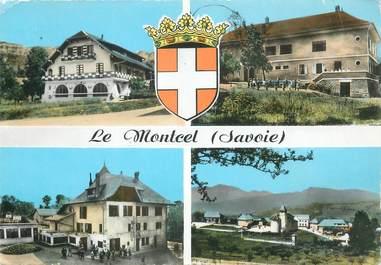 """CPSM FRANCE 73 """"Le Montcel , Vues"""""""