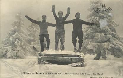 """CPA FRANCE 73 """" Le Mont Revard"""" / SKI"""