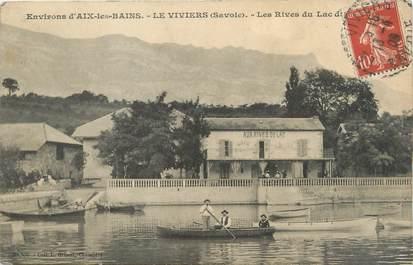"""CPA FRANCE 73 """" Le Viviers, Les rives du Lac du Bourget"""""""