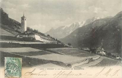 """CPA FRANCE 73 """"Peisey, Les glaciers de Bellecote"""""""