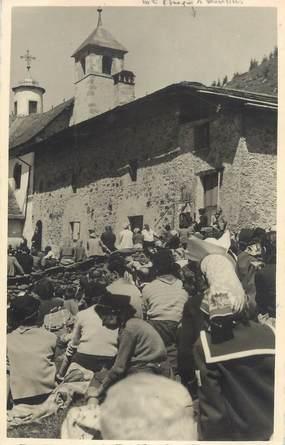"""CARTE PHOTO FRANCE 73 """"Peisey - Nancroix, L'église"""""""