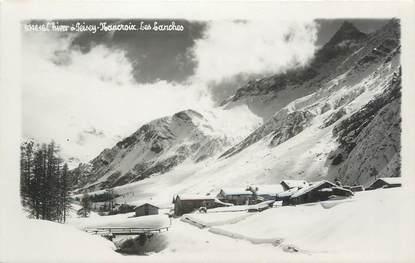 """CPSM FRANCE 73 """"Les Lanches sous la neige"""""""
