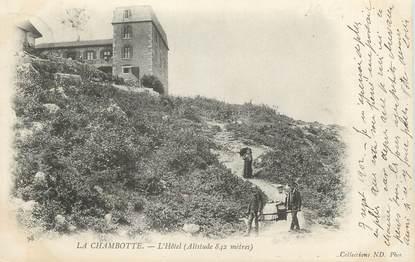 "CPA FRANCE 73 La Chambotte, L'Hôtel"""