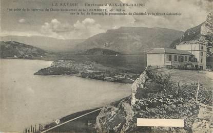 """CPA FRANCE 73 La Chambotte, Le chalet Restaurant"""""""