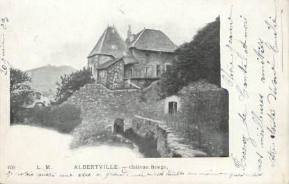 "CPA FRANCE 73 ""Conflans, Albertville , Château Rouge"""