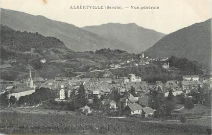 """CPA FRANCE 73 """" Albertville, Vue générale"""""""