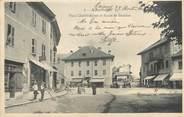 """73 Savoie CPA FRANCE 73 """" Albertville, Place Charles Albert et Route de Beaufort"""""""