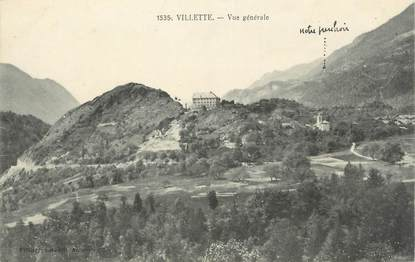 """CPA FRANCE 73 """" Villette, Vue générale"""""""