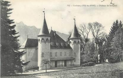 "CPA FRANCE 73 "" Bomport, Le château"""