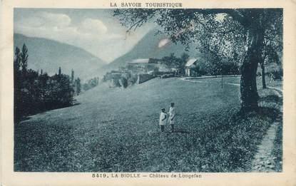 "CPA FRANCE 73 "" La Biolle, Château de Longefan"""