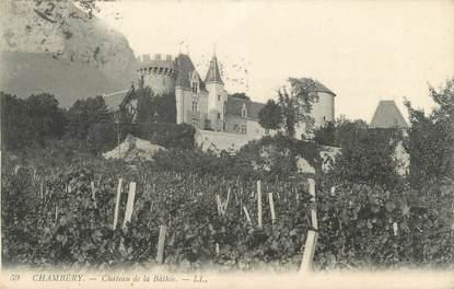 """CPA FRANCE 73 """" Chambéry, Château de la Bâthie"""""""