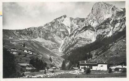 """CPSM FRANCE 73 """" Vallée de Peisey, La Chenarie, Notre Dame des Vernettes et l'Aiguille Verte"""""""