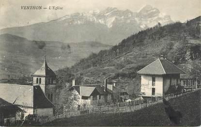 """CPA FRANCE 73 """" Venthon, L'église"""""""