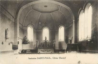 "CPA FRANCE 73 "" Cévins, Institution St Paul"""