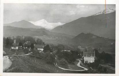 """CPSM FRANCE 73 """" Mercury - Gemilly, Village de la Softaz et le Mont Blanc"""""""