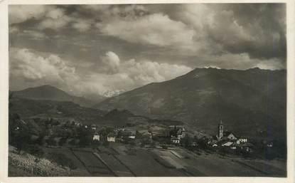 """CPSM FRANCE 73 """" Mercury - Gemilly, Vue générale et le Mont Blanc"""""""