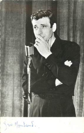 """CPSM ARTISTE """"yves Montand"""""""